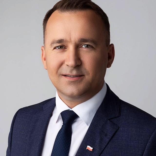 Świętokrzyski poseł Porozumienia oraz minister do spraw rozwoju samorządu w Kancelarii Prezesa Rady Ministrów Michał Cieślak.