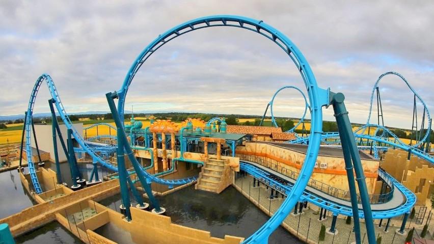 Wielka impreza w Energylandii. To 7. urodziny parku rozrywki i otwarcie nowej strefy Aqualantis. Ekipa Friza ma swój rollercoaster [ZDJĘCIA]