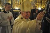 Protest zakłócił mszę świętą odprawianą przez abp. Marka Jędraszewskiego