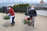 Tłumy ludzi w centrach ogrodniczych w Kielcach i powiecie kieleckim. Stali w długich kolejkach do kas [ZDJĘCIA]