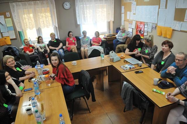Tak strajkują nauczyciele w Kostrzynie nad Odrą.