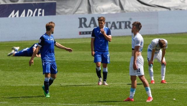Piłkarze drugiego zespołu Lecha Poznań kompletnie rozczarowali na początku nowego sezonu. Kolejorz poległ w starciu z Radunią Stężyca 0:1.