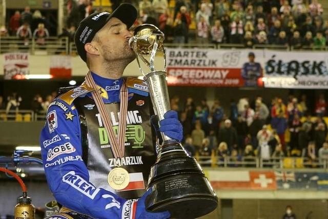 Bartosz Zmarzlik, żużlowiec Stali Gorzów obronił tytuł indywidualnego mistrza świata.