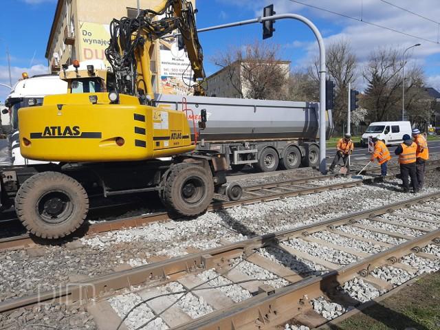 W sobotę i niedzielę drogowcy będą prowadzić prace na torowisku przy ul. Grunwaldzkiej i Marszałkowskiej