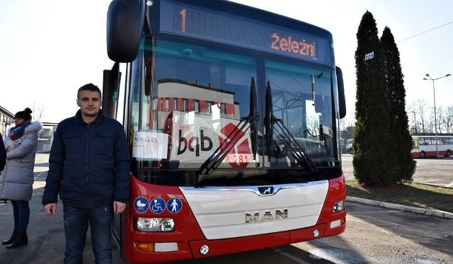 Kierowca MPK Maciej Kościółek przez dwa tygodnie testował nowy autobus MAN-a i jest bardzo zadowolony z komfortu jazdy