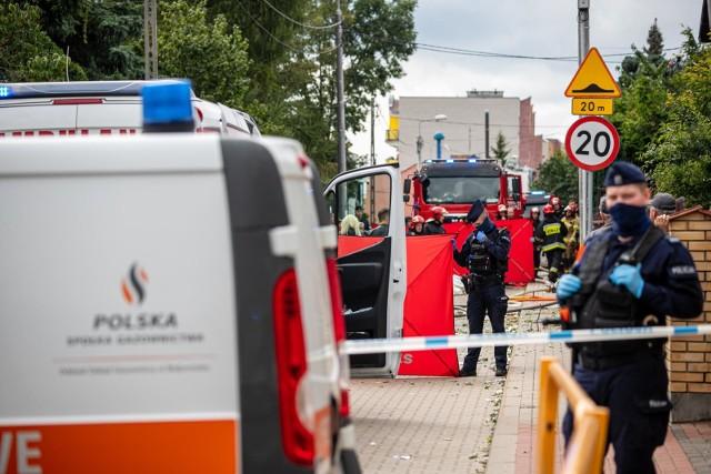 Wybuch w domu przy ulicy Kasztanowej. Zginęły cztery osoby, w tym dziecko. To było rozszerzone samobójstwo