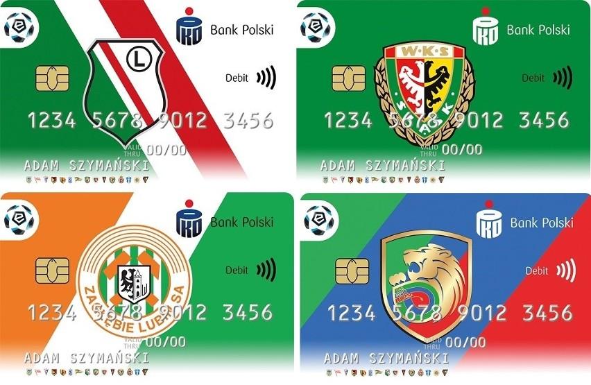 Klubowe karty płatnicze z herbami klubów LOTTO Ekstraklasy -...
