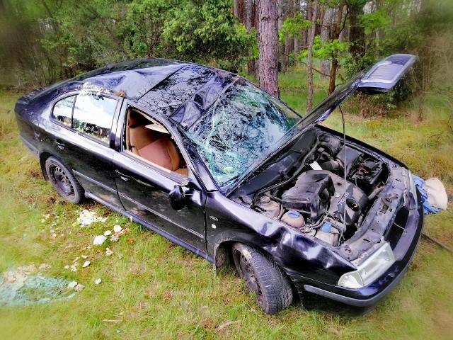 Wypadki na drogach powiatu 23.05.2019