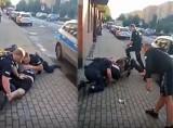 """Kolejna brutalna akcja policji. """"Panowie, on pije piwo 0,0!"""" To nagranie wywołało burzę"""