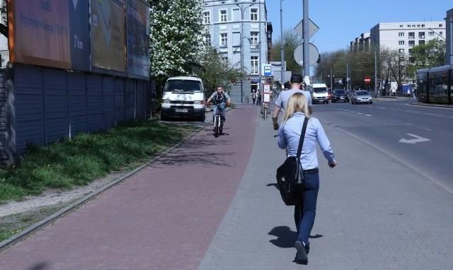 W Łodzi będą nowe drogi dla rowerzystów.