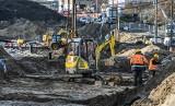 Przebudowa ulicy Kujawskiej w Bydgoszczy - jak postępują prace? [zdjęcia, wideo]