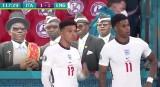 Euro 2020. Finał Wlochy - Anglia. Marcus Rashford i Jadon Sancho weszli tylko na karne. Obaj nie strzelili