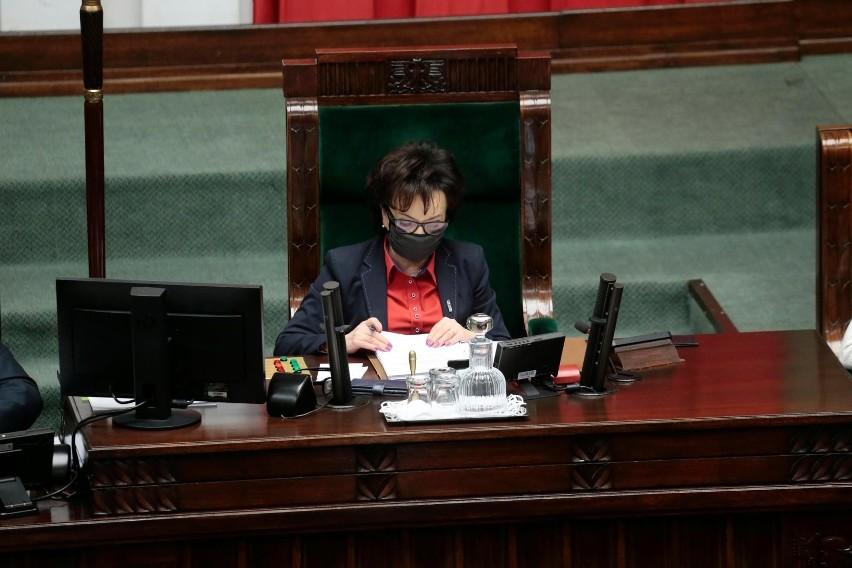 Oświadczenie marszałek Sejmu ws. działań Izraela i USA....