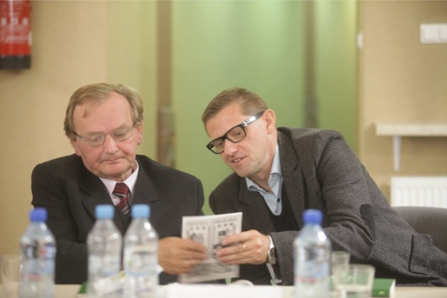 Alojzy Lysko i Zbigniew Kadłubek
