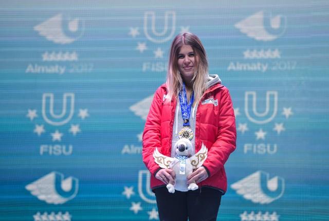 Katarzyna Rusin ma już jedno złoto wywalczone w Ałmatach. We wtorek powalczy o kolejne