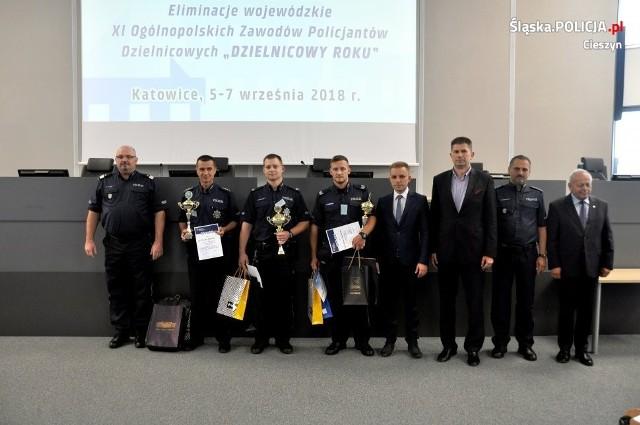 Sierż.szt. Kamil Przewieźlik z Komendy Powiatowej Policji w Cieszynie wygrał eliminacje wojewódzkie