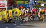 Fabio Jakobsen, ofiara wypadku w Katowicach podczas Tour de Pologne, znów się ściga. Holender wystartował w pierwszym wyścigu ZDJĘCIA