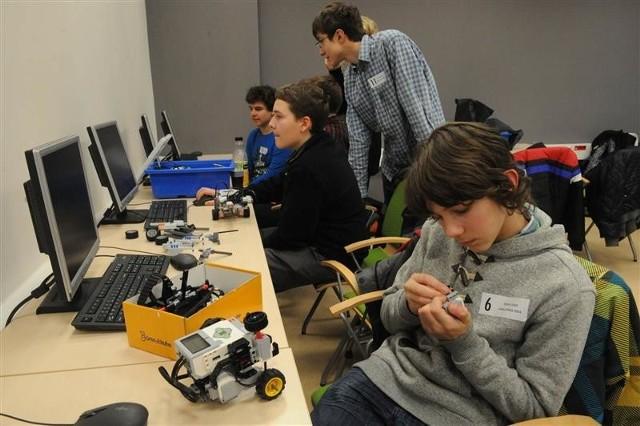Uczniowie Gimnazjum TAK w Opolu wygrali Lego Challenge.