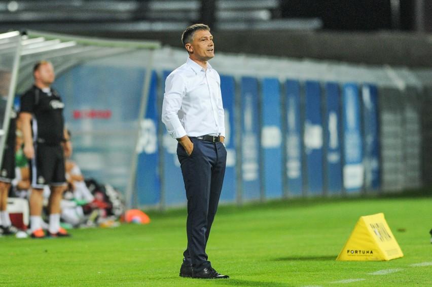 Mecz z Radomiakiem Radom był dla Mariusza Rumaka ostatnim w roli trenera Odry Opole.