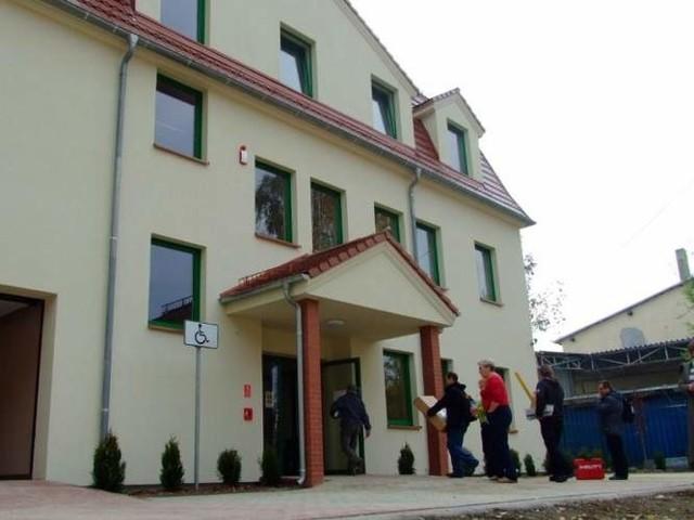 Nowa siedziba KRUS w Strzelcach Opolskich. (fot. dim)