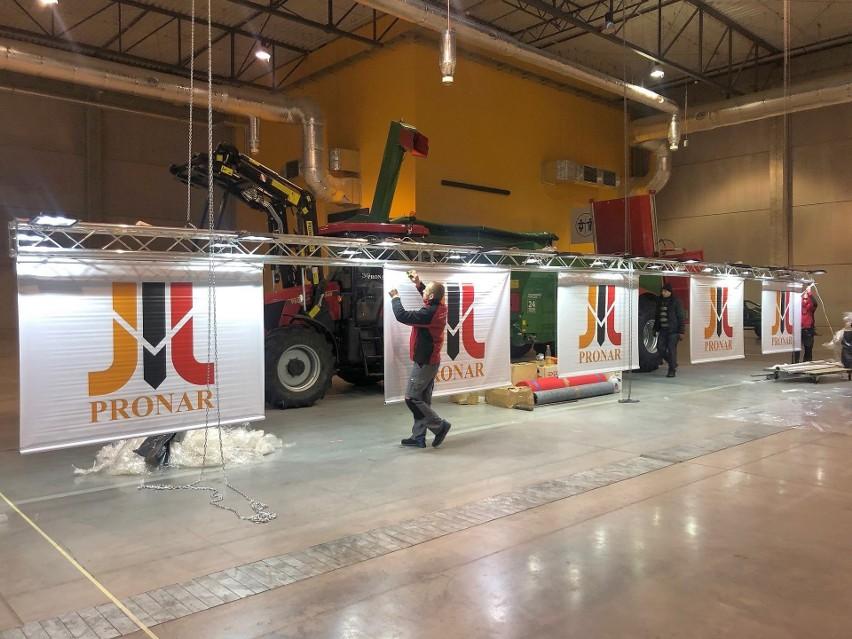 Przygotowania Pronaru do Agro Show w Ostródzie idą pełną...