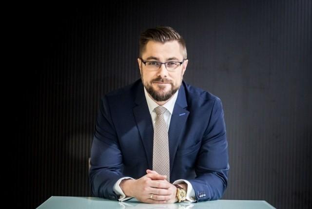 Prezes Grzegorz Bednarski