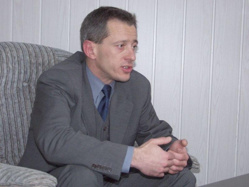 Prezydent Koszalina Mirosław Mikietyński.