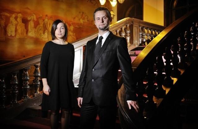 """Tak prezentują się artyści z grupy """"Castello"""", która swoją siedzibę ma w pałacu w Mosznej."""