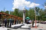 Pomnik Żołnierzy Wyklętych w Starym Grodkowie został odsłonięty na Polanie Śmierci