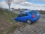 Wypadek na drodze Wrocław - Żórawina [ZDJĘCIA]