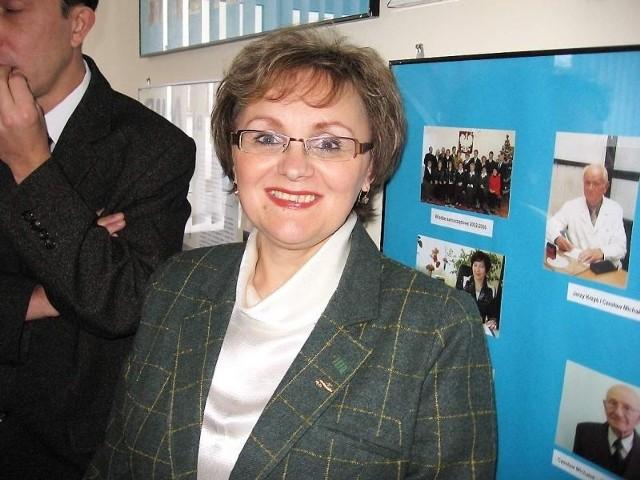 Alicja Wiczewska pokieruje barcińskim SPZOZ-em.