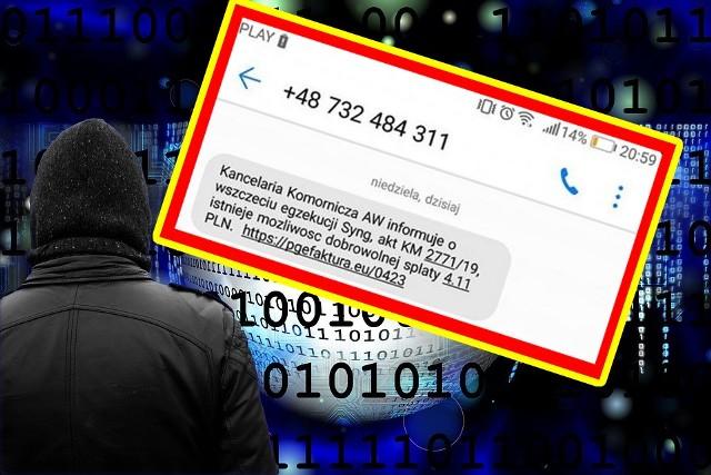 Oszuści podszywający się pod kancelarie znowu atakują! Uwaga na SMS-y nakłaniające do spłaty zadłużenia! Możesz stracić pieniądze z konta! Wyjaśniamy, jak działają oszuści.