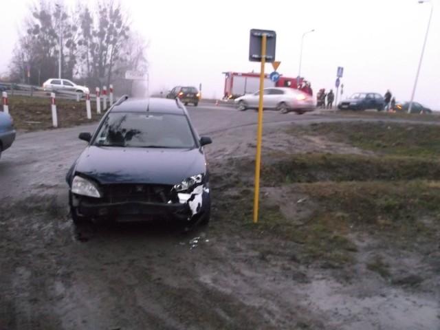 Wypadek po drodze na lotnisko