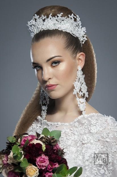 Wizyta U Fryzjera Stylisty Fryzura ślubna Salon Fryzjerski