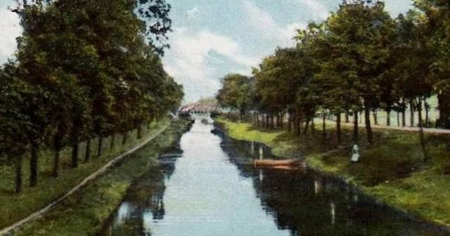 Kanał Kłodnicki był nie tylko drogą transportową, ale również miejscem wypoczynku.