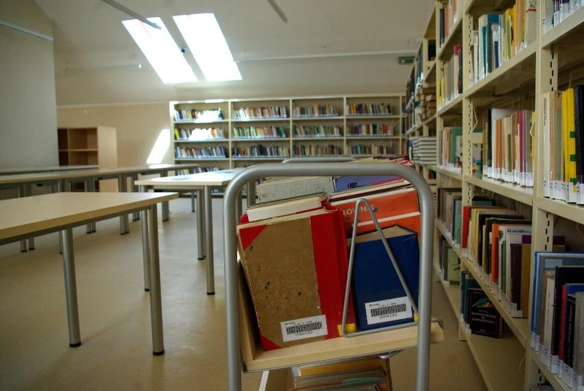 Z książek zamówionych w dowolnej czytelni w bibliotece będzie można skorzystać na miejscu, w Czytelni Czasopism.