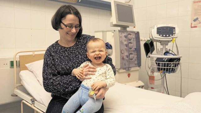 Niemal każdy mały pacjent Szpitala Dziecięcego w Prokocimiu korzysta ze sprzętu z serduszkiem WOŚP