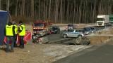 Dybki. Wypadek śmiertelny na DK8. Zginęły trzy osoby (wideo)