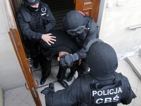 Funkcjonariusze Centralnego Biura Śledczego zatrzymali bossów gangu Młody Pruszków