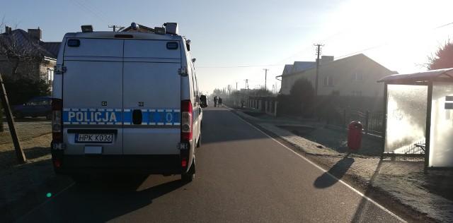 Tragiczne zdarzenie miało miejsce przy ul. Kolejowej w Milczy