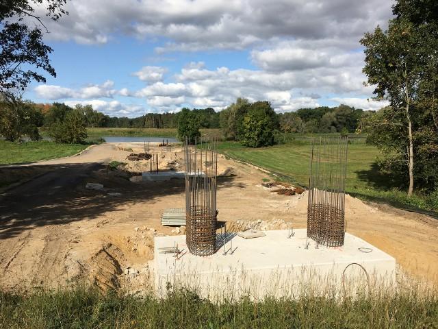 Budowa nowego mostu w gminie Bojadła