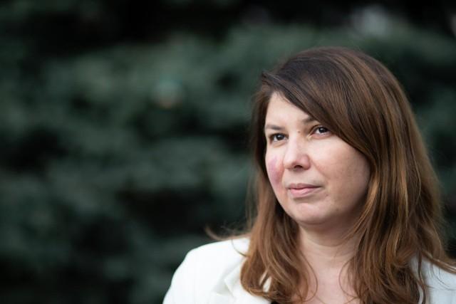 Renata Połomska pracuje w hospicjum od 20 lat