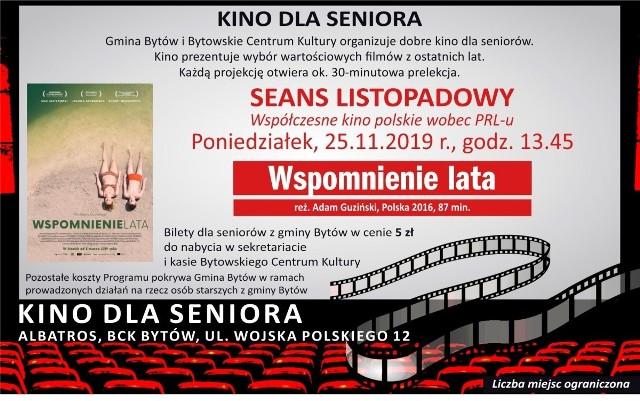 BCK zaprasza seniorów do kina.