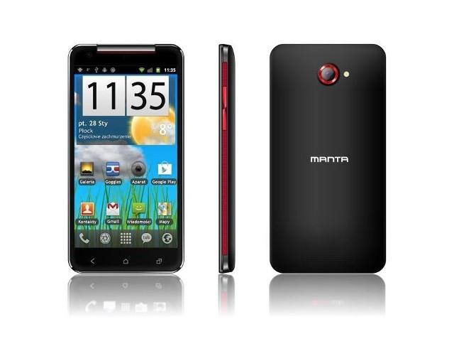 MantaPo całej serii tanich tabletów Manta postanowiła wejść na rynek smartfonów