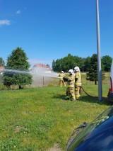 Zastępy druhów ochotników szkolą się w siedzibie zawodowej straży pożarnej w Międzyrzeczu