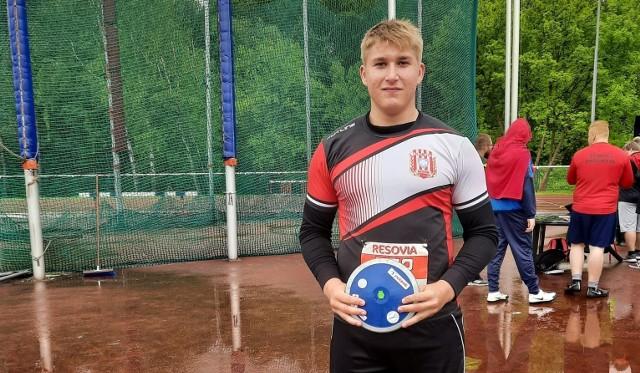 Michał Matyja wywalczył złoty medal w rzucie dyskiem