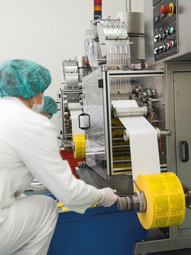 Zakład produkcyjny Medicofarma w Radomiu szczyci się najnowszymi liniami technologicznymi do produkcji leków