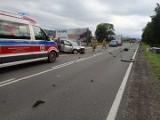 Wypadek na zakopiance. W Bańskiej Niżnej zderzyły się dwie osobówki. Jedna osoba została ranna