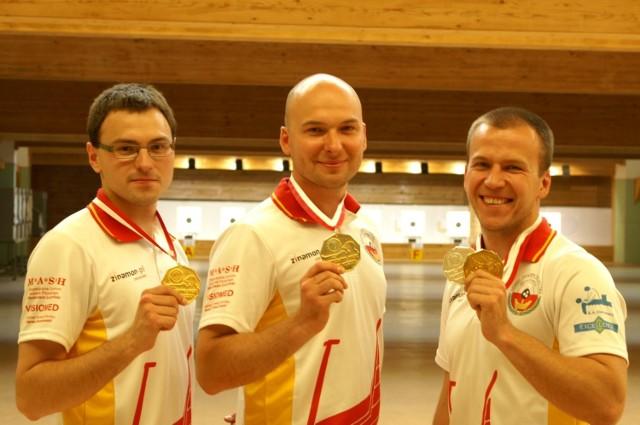Od lewej: Mateusz Michalak, Tomasz Wawrzonowski i Adam Mikołajczyk.