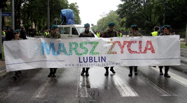 Radni z klubu Wspólny Lublin bronią Marszu Życia